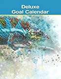 Deluxe Goal Calendar: Daily Yearly Business Organizer Journal Vision Board Notebook Planner - Chameleon Lizard (Success Calendars - 8.5 x 11 With 181 Pages)