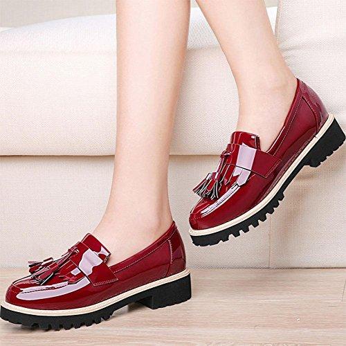 EU38 chaussures Mme de rond US7 UK5 printemps CN38 des sport pied dautomne 5 simples chaussures fixe avec 5 chaussures chaussures de et vfUSqrwv
