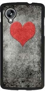 Funda para Google Nexus 5 - Valentines Vendimia Rouge by BruceStanfieldArtist