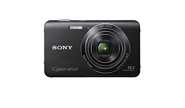 Sony DSC-W650 - Cámara digital (16,1 MP, 4608 x 3456 Pixeles, CCD, 5x, HD, Negro): Amazon.es: Electrónica