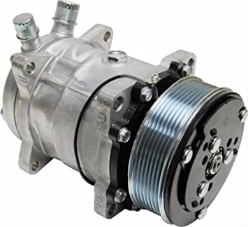 A//C AC Compressor and Clutch for Sanden SD508 Model Brand New 8 Groove