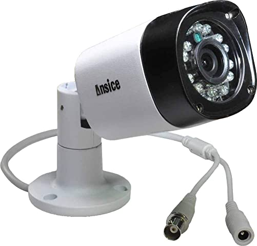 Ansice 1080P 2.0MP AHD CCTV Camera 2.8mm Lens Wide Angle 1MP Video AHD Camera with IR-Cut Waterproof Security Infrared 24 pcs for AHD DVR Only