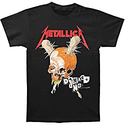 Metallica Men's Damage Inc. Tour T-shirt XXX-Large Black