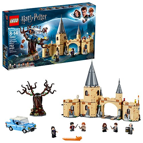 LEGO Harry Potter and The Chamber of Secrets Hogwarts Whomping Willow 75953 Magic Toys Building Kit, Prisoner of Azkaban, Hedwig, Hermoine Granger and Severus Snape (753 Pieces) ()