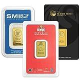 5 Gram Gold Bars.9999 Pure