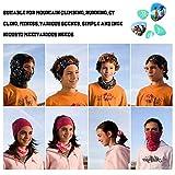 Ambielly Headwear,Headband,Magic Scarf,Neck