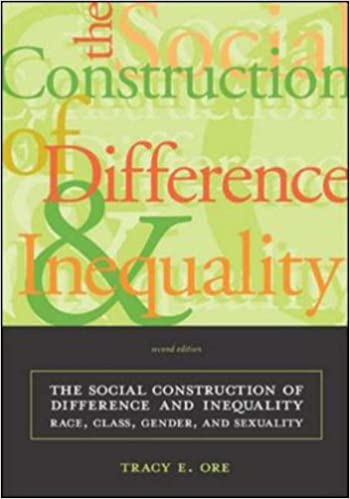 In what ways are race gender and sexuality social constructions