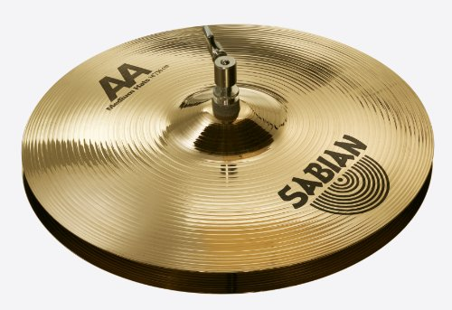 Sabian 14 Inch AA Medium Hi-Hats Brilliant Finish for sale  Delivered anywhere in USA