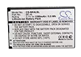 VINTRONS 1500mAh Battery for Nokia