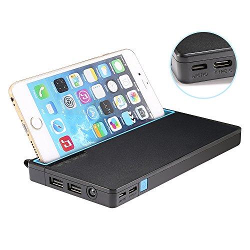 GRDE Portable 10000mAh Flashlight Smartphones