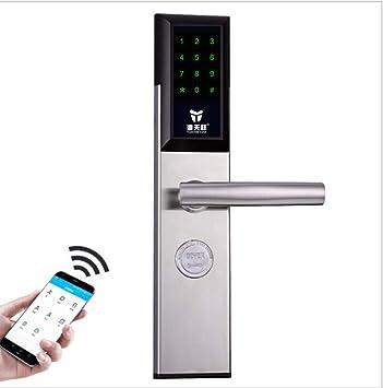 Amazon.com: Smart Lock - Cerradura electrónica para puerta ...