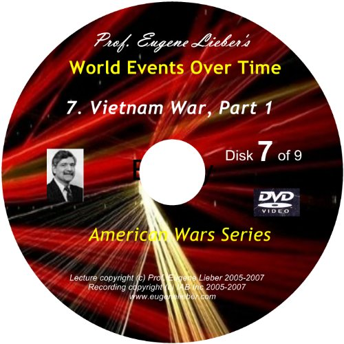 American Wars Series: Vietnam War, Parts 1 & 2; World Events Over Time Collection
