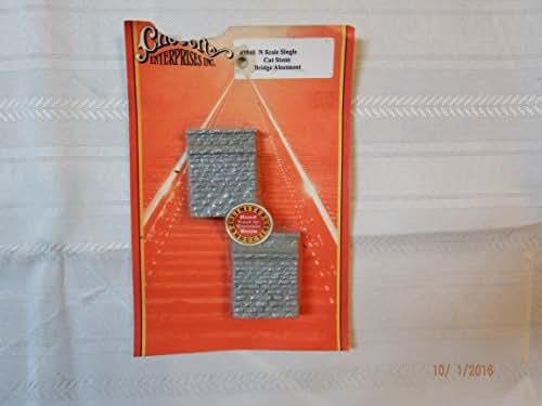 Chooch Enterprises CHO9840 N Single Cut Stone Bridge Abutment (2)
