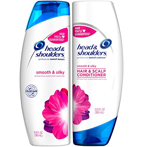 Head and Shoulders Smooth & Silky Dandruff Shampoo and Condi
