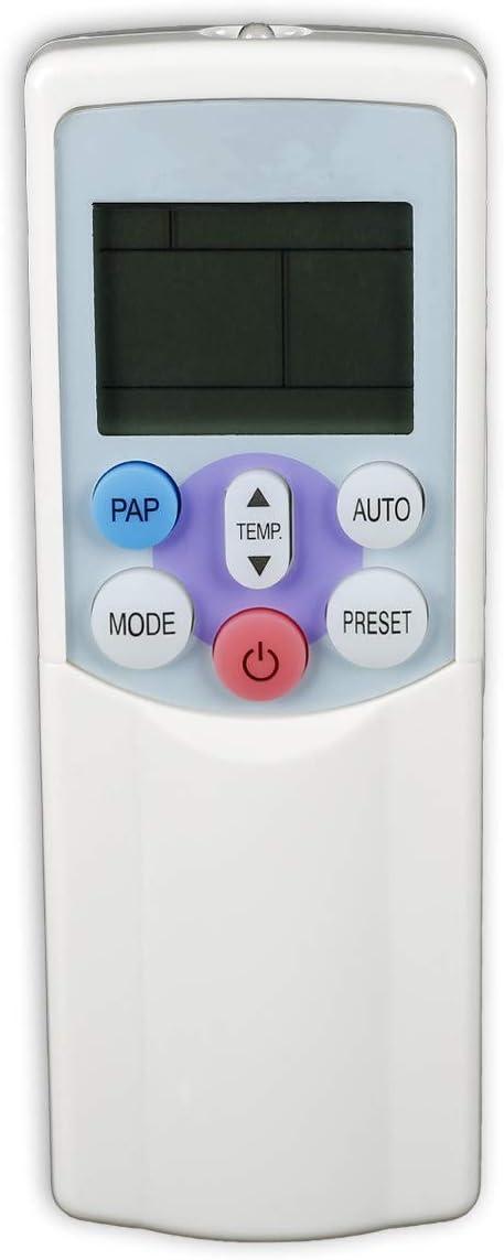 SODIAL Reemplazo Directo del Control Remoto del Aire Acondicionado para Wh-H01Ee Wc-H04Je