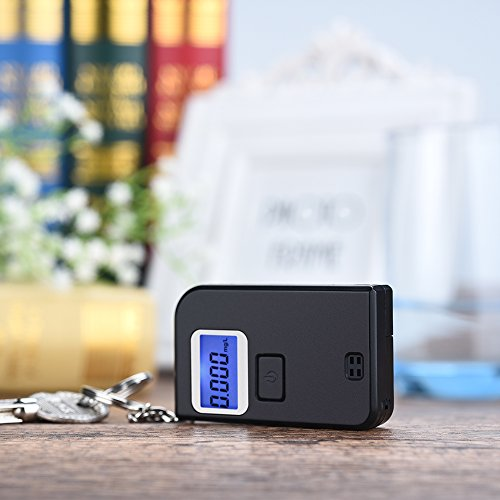 Homasy Breathalyzer, Mini Keychain Digital Breathalyzer, Portable Keyring Breath Alcohol Tester, by Homasy (Image #7)