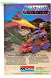 He-Man Masters of the Universe: Talon Fighter & Attak Trak: Great Original Photo Print Ad: Monogram Models