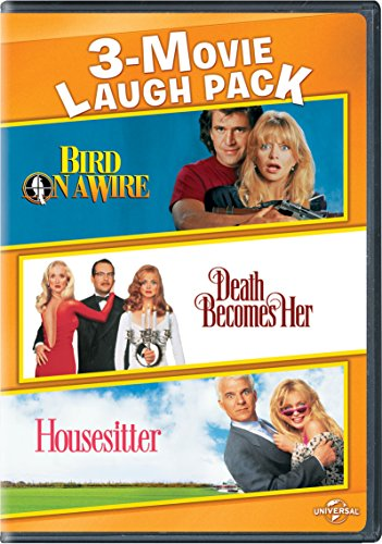 12 Inch French Whip - Bird on a Wire / Death Becomes Her / Housesitter 3-Movie Laugh Pack