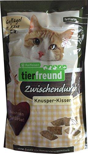 Raiffeisen tierfreund Zwischendurch Knusper-Kissen Geflügel-Käse, 60 g