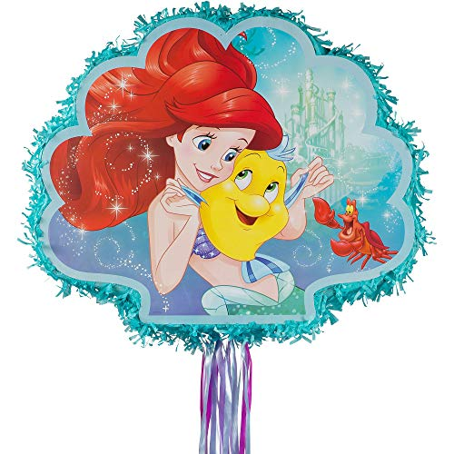 Disney Little Mermaid Ariel Pull String Piñata]()