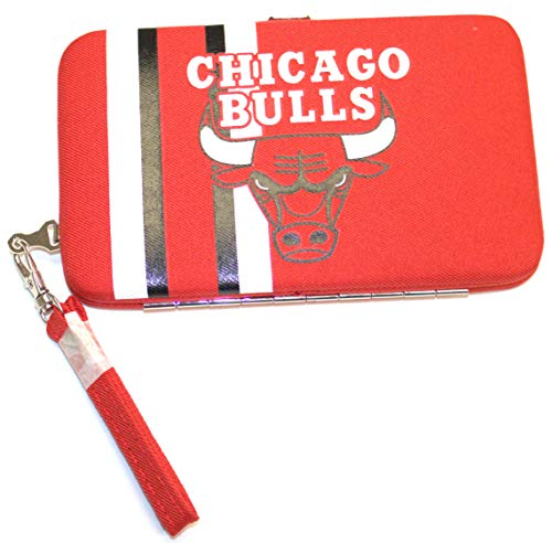 Littlearth NBA Chicago Bulls Shell Wristlet (Red Bull Soccer Phone Case)
