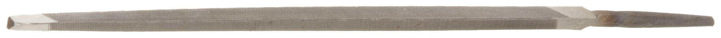 Nicholson Triangular Double Extra Slim Taper Hand File, Single Cut, American Pattern, 6'' Length (Pack of 12)