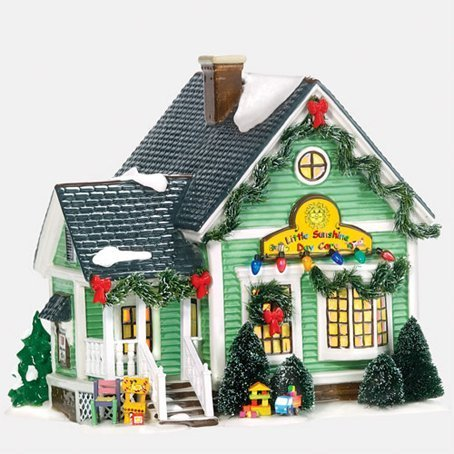 Department 56 Snow Village Little Sunshine Daycare by Department 56