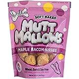 A LAZY DOG Lazy Dogs Mutt Mallows Soft Baked Dog Treats Maple Bacon Kisses 5 oz bag