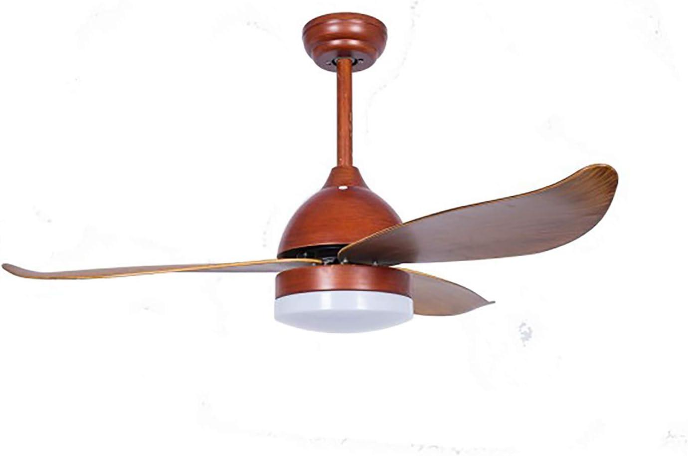 Ventilador de techo con LED 20W BOMBAY Narvi color Madera con mando a distancia