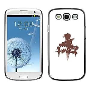 Stuss Case / Funda Carcasa protectora - Lobo sesión - Samsung Galaxy S3