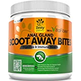 Scoot Away Soft Chews for Dogs - With Digestive Enzymes &...