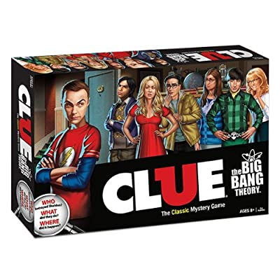 Clue: The Big Bang Theory: Game: Toys & Games