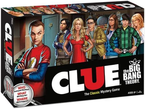 Clue: The Big Bang Theory Collectors Edition: USAopoly: Amazon.es: Juguetes y juegos