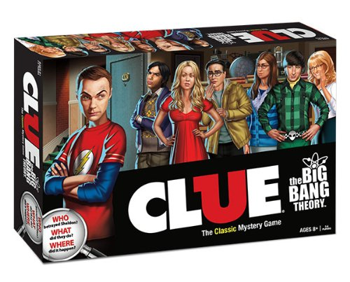 The Big Bang Theory Clue Brettspiel