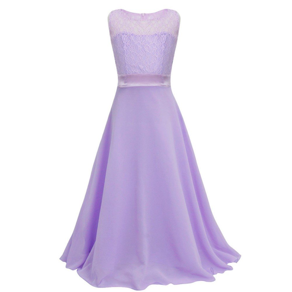 Teen Girls Retro Floral Lace Bodice Flowing Floor Length Dress Prom  Bridesmaid: Amazon.co.uk: Clothing