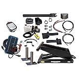 10 Ton (20,000 lb) Dump Trailer Hydraulic Scissor Hoist Premium Kit - Power Hoist 520