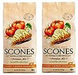 Sticky Fingers Pumpkin Spice with Vanilla Cream Glaze Scone Mix, 1 lb. (2 Pack)