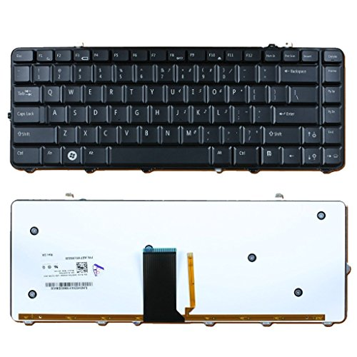 C569K - Dell Studio 1555 / 1557 / 1558 Backlit Laptop Keyboard - C569K - Grade B