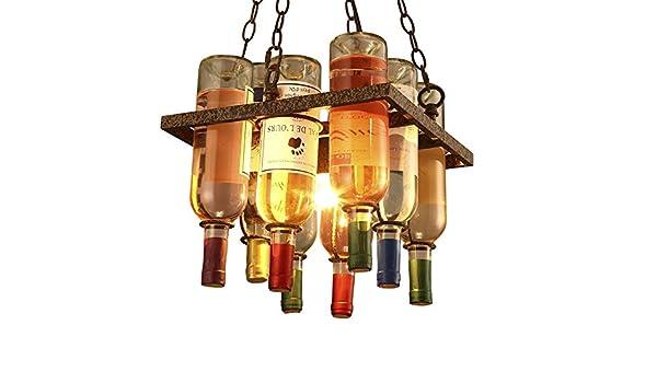 DS Candelabro Lámparas de Botellas de Vidrio - Creativo Bar ...