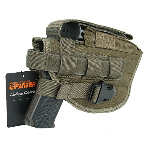EXCELLENT ELITE SPANKER Tactical Adjustable Pistol for Holster M1911 G17 G18 G19 G26 G34 XD-45acp CZ P-10C
