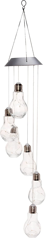 Green Light Glass Bulb Hanging Light