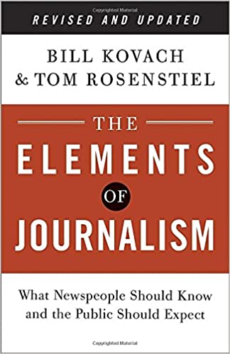 an examination of journalism through the prism of ethics and evolution