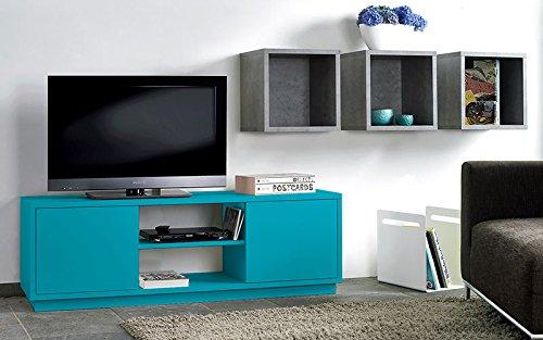 Cultm/öbel TV-Sideboard TV-Schrank HiFi-Schrank Sideboard t/ürkis