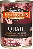 Evangers Grain-Free Quail for Dogs & Cats 12.8 oz Review