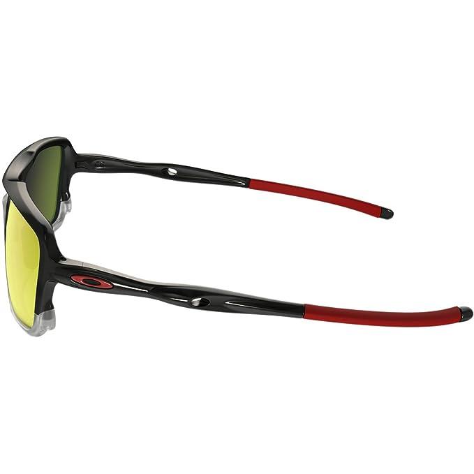 73b07faa4a77 Amazon.com: Oakley Men's Triggerman Non-Polarized Iridium Rectangular  Sunglasses, BLACK INK/CLEAR, 58.5 mm: Clothing