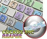 REAPER GALAXY SERIES NEW KEYBOARD STICKERS