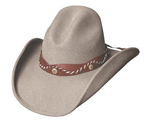 Montecarlo / Bullhide Hats - PISTOL CREEK - Wool GUS Western Cowboy Hat (XLarge)