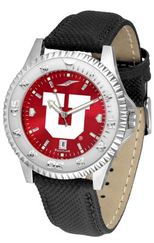 Linkswalker Mens Utah Utes Competitor Anochrome Watch