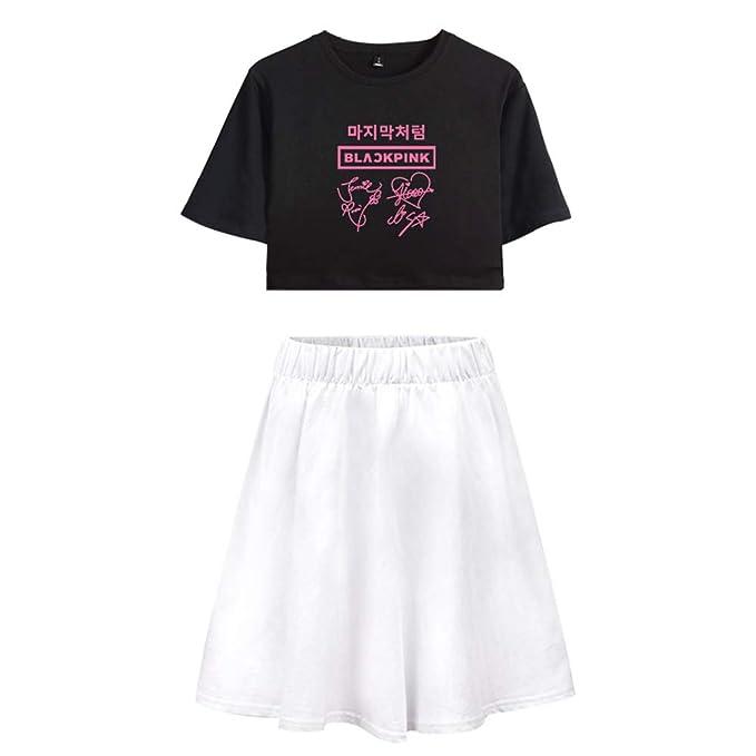 Enjoyyourlife Blackpink KPOP Ropa Camiseta Set Expuestos ...