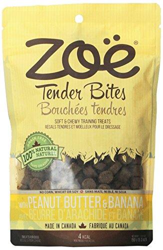 Zoe Tender Bites for Pets, 5.3-Ounce, Peanut and - Peanut Butter Banana Dog Treats